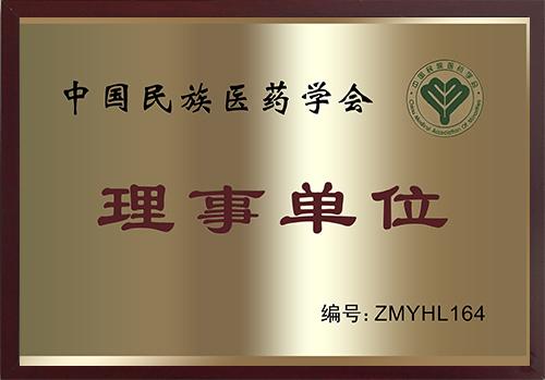 中国民族医药协会理事单位